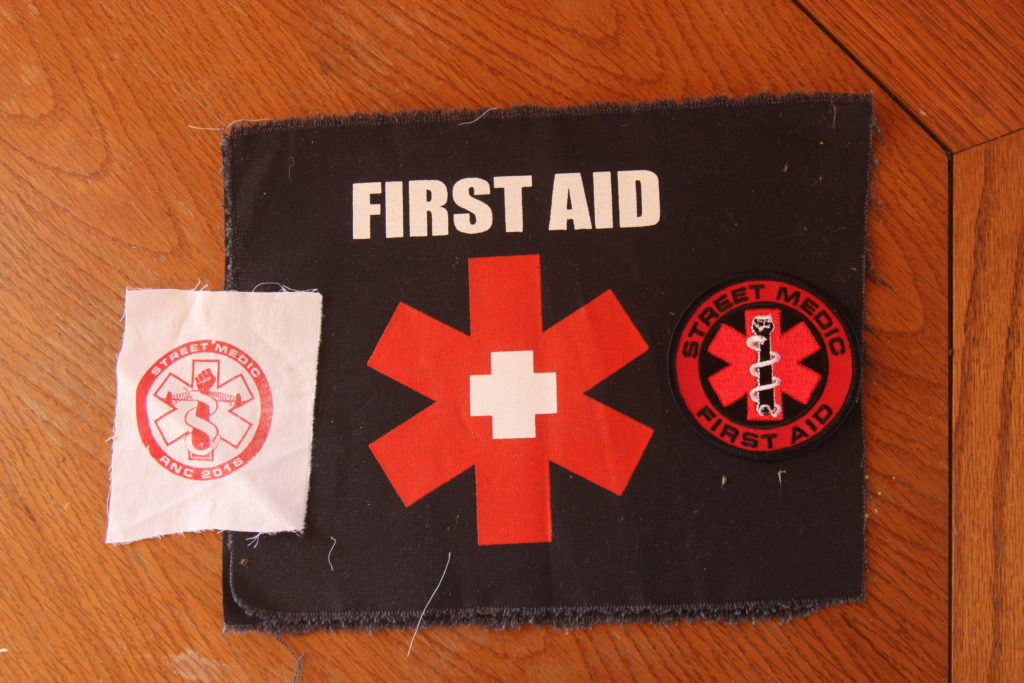 First aid patches
